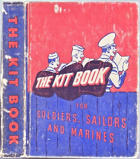 The Kitbook for Soldiers, Sailors, and Marines. J. D. Salinger, R. m. Barrows, contributes.