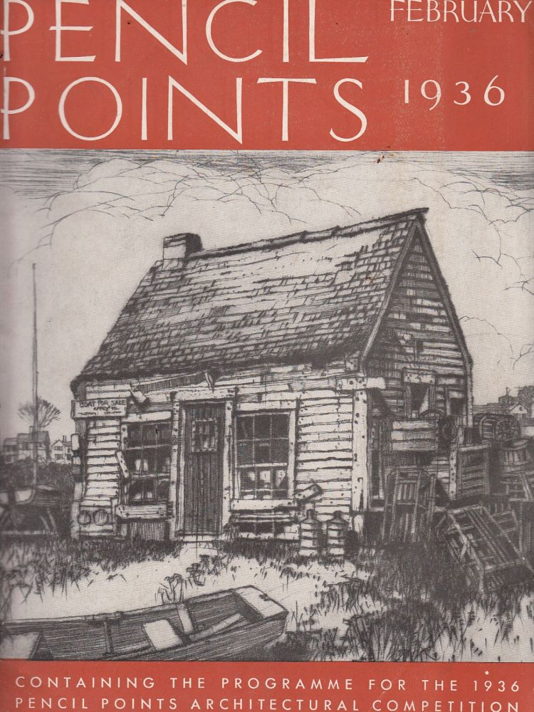 Pencil Points, February 1936 (Vol. XVII, No. 2). Russell F. Whitehead.
