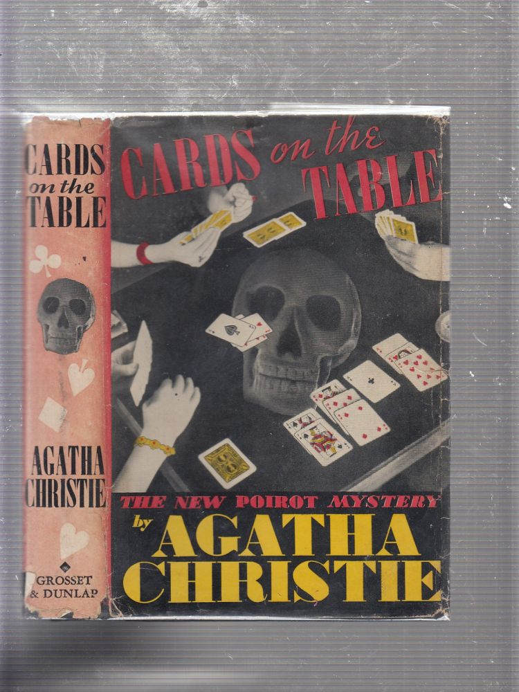 Cards On the Table: The New Poirot Mystery (in original dust jacket). Agatha Christie.