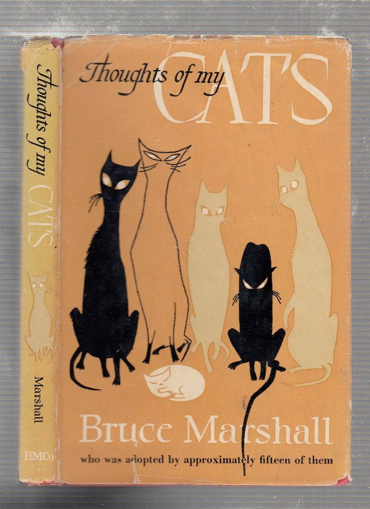 Thoughts Of My Cats. Bruce Marshall.