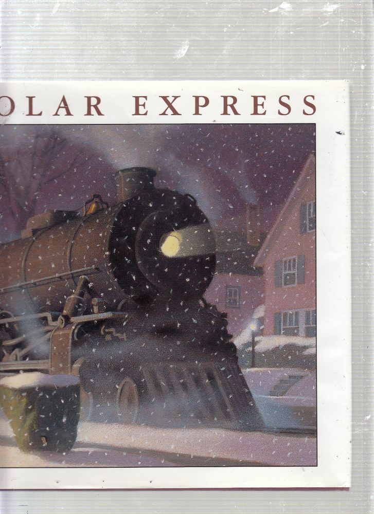 The Polar Express (signed by the author). Chris. Van Allsburg.