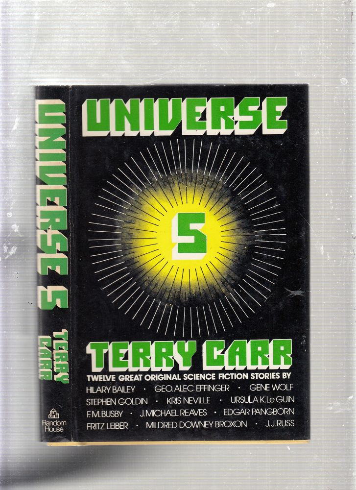 Universe 5 (in dust jacket). Terry Carr.