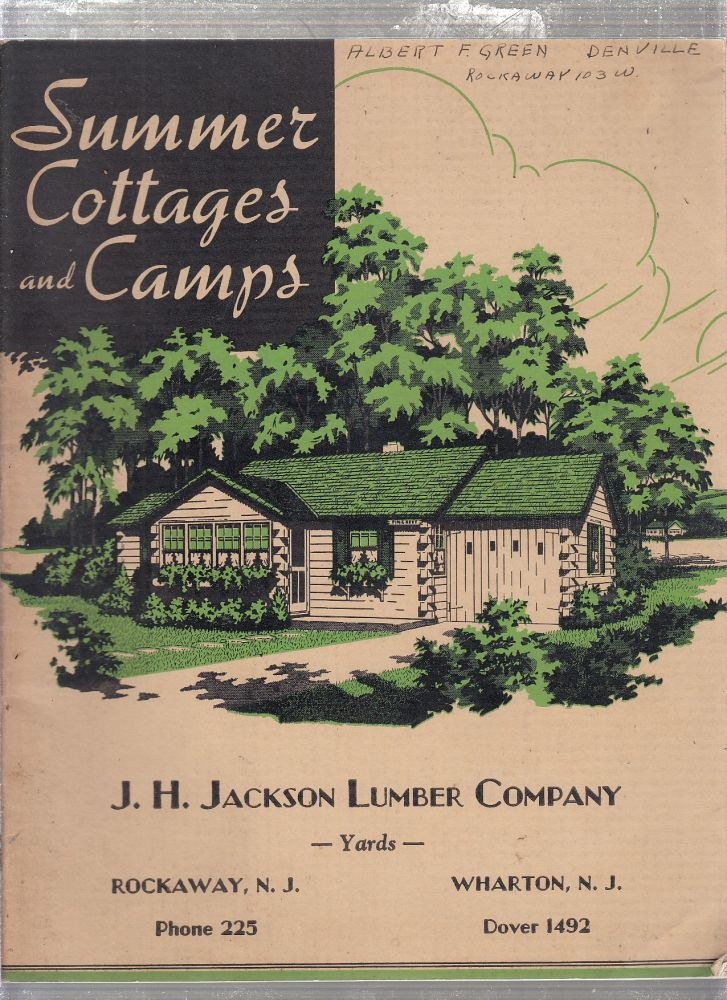 Summer Cottages and Camps. National Plan Services.