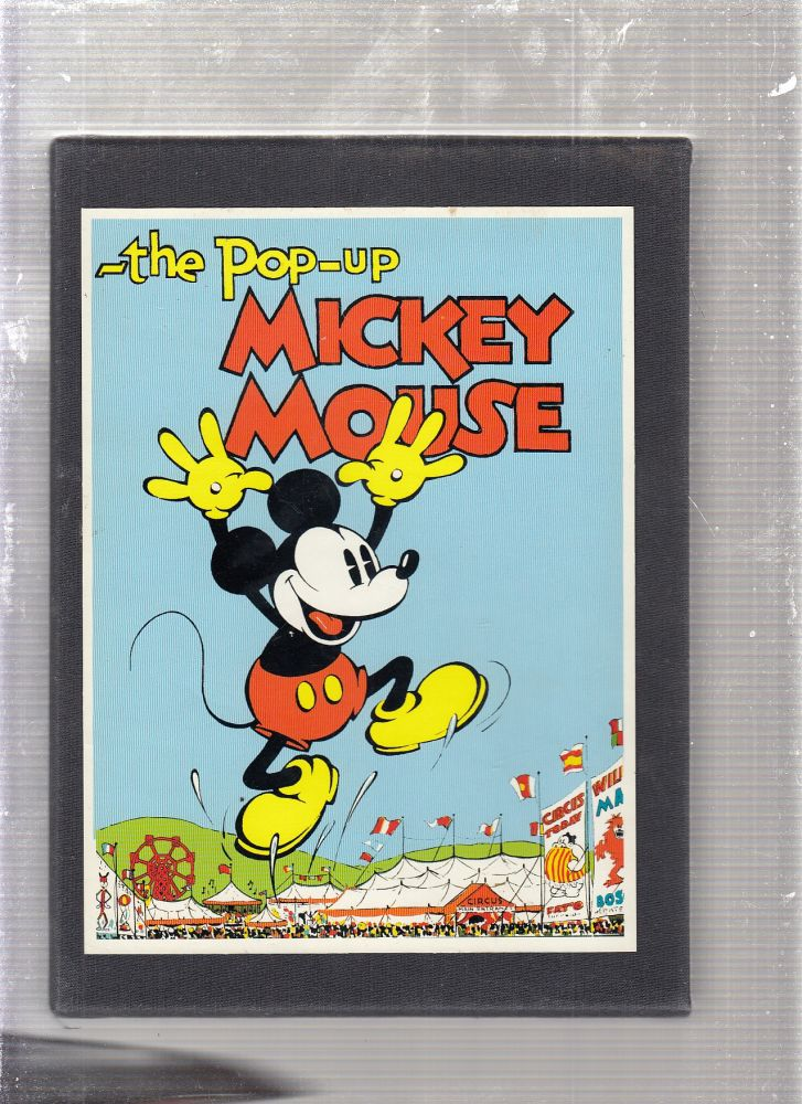 Pop-Up Mickey Mouse: Collector's Edition (numbered, limited boxed set of four). Disney Studios, Walt Disney Productions.