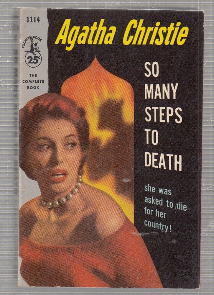 So many Steps To Death (first paperback edition). Agatha Christie.