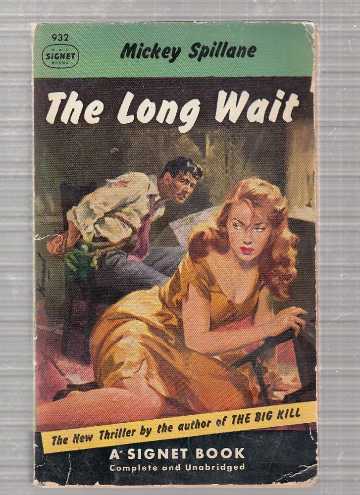 The Long Wait (first paperback edition). Mickey Spillane.