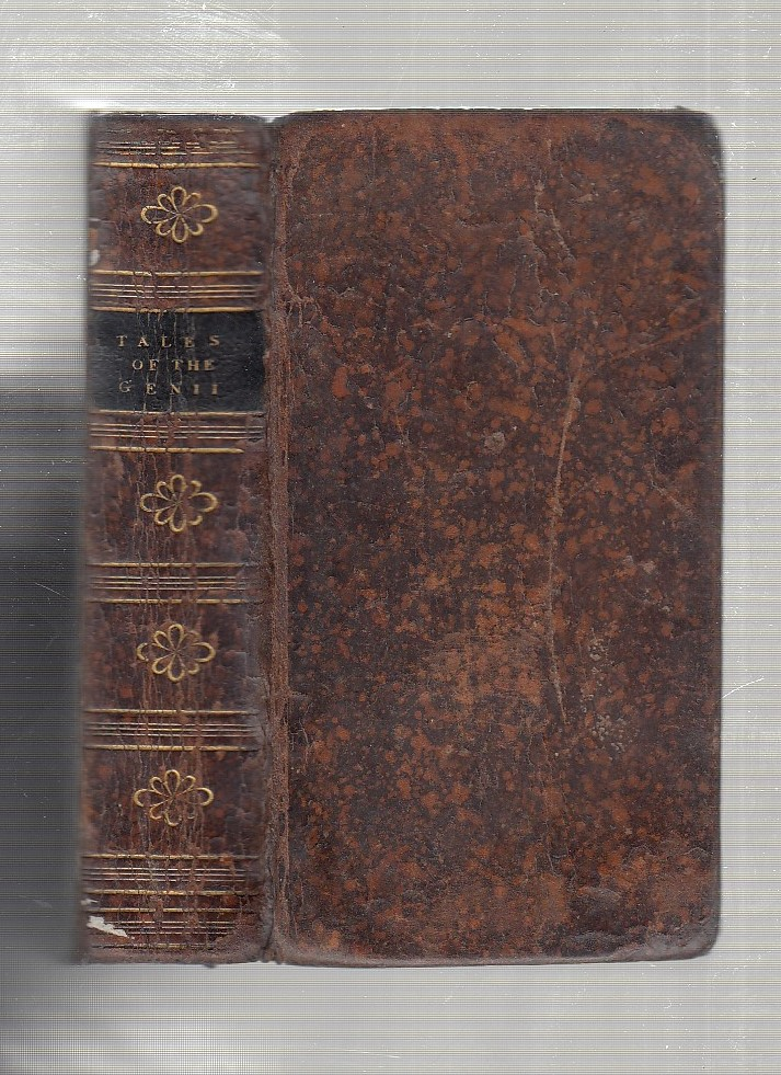 Tales Of The Genii translated from the Persian. Sir Charles Morell, pseud. of Rev. James Ridley.