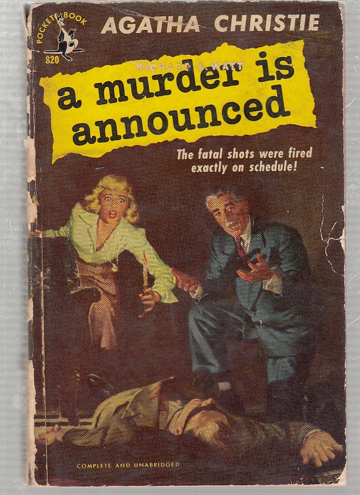 A Murder Is Announced (first papeback edition). Agatha Christie.