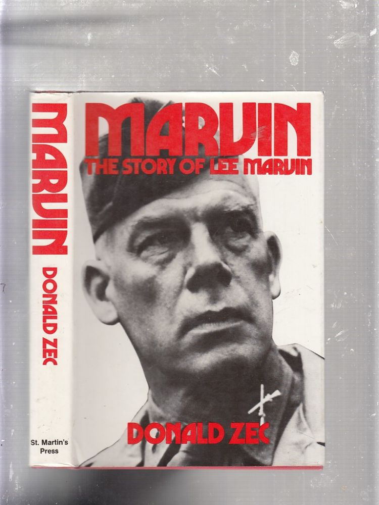 Marvin: The Story of Lee Marvin. Donald Zec.