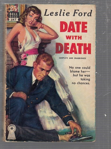 Date With Death (Dell map back). Leslie Ford.