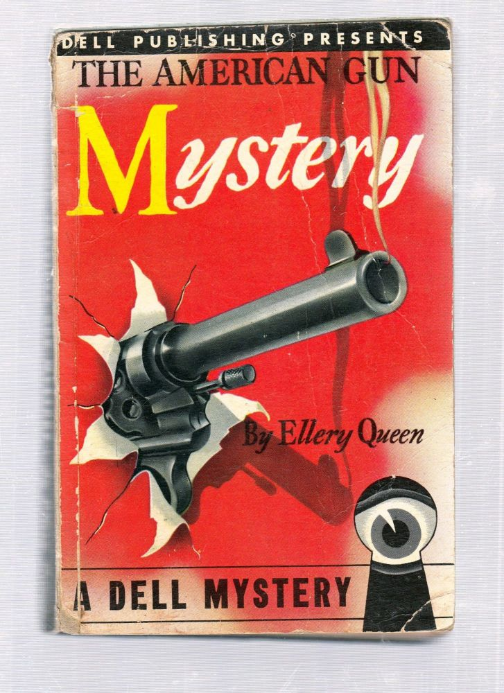 The American Gun Mystery (Dell map back). Ellery Queen.