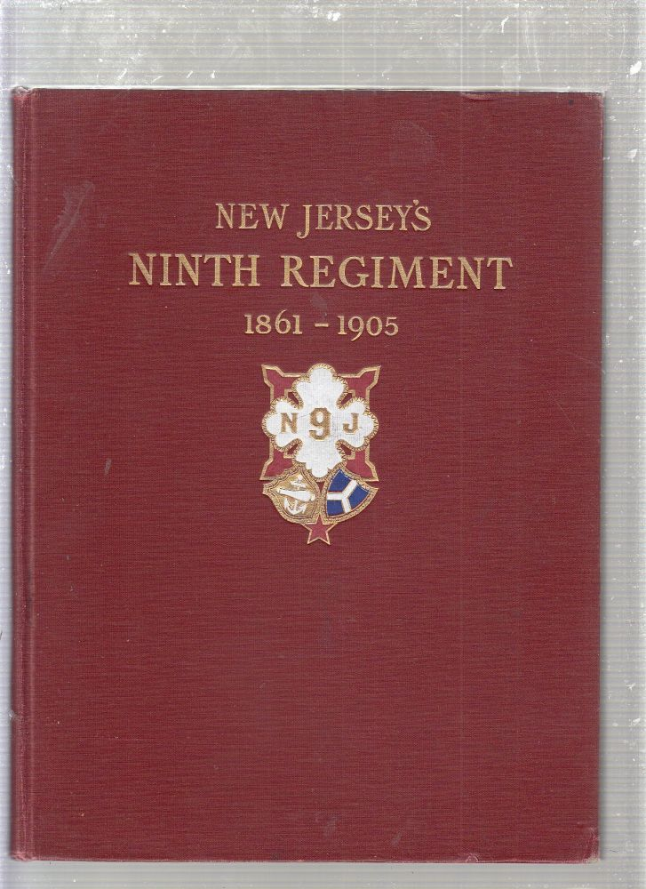 REPORT OF STATE COMMISSION FOR ERECTION OF MONUMENT TO NINTH NEW JERSEY VOLUNTEERS AT NEW BERNE, NORTH CAROLINA