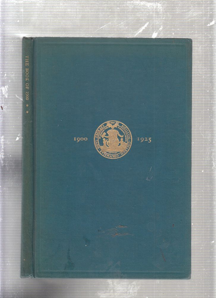 The Book Of 1900 : Columbia Arts and Mines (Vol. Two). Columbia University.