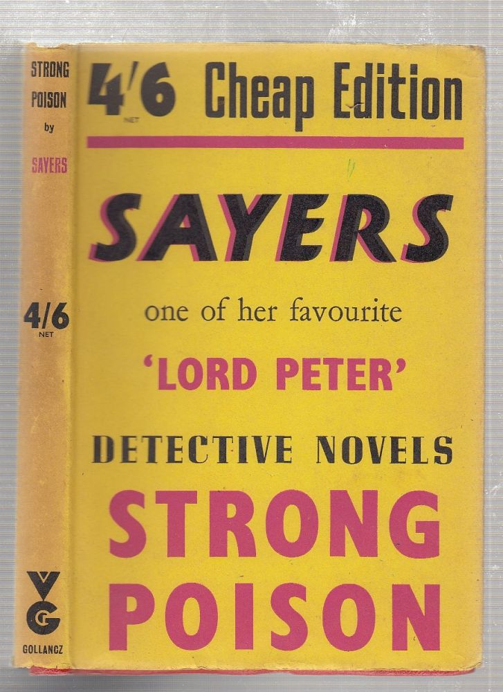 Strong Poison ( in dust jacket). Dorothy Sayers.