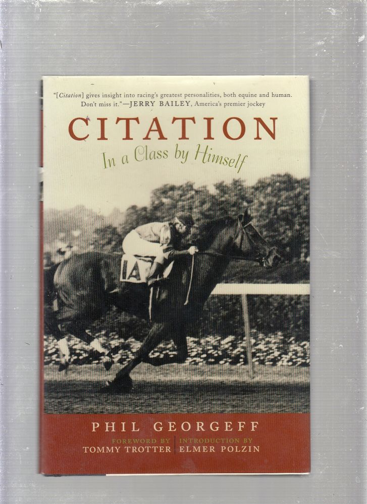Citation: In a Class by Himself. Phil Georgeff.