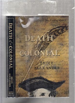 Death of a Colonial. Bruce Alexander