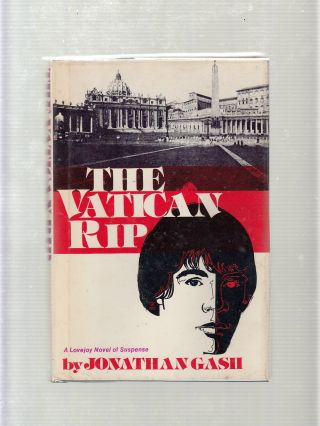 The Vatican Rip: A Lovejoy Novel of Suspense. Jonathan Gash