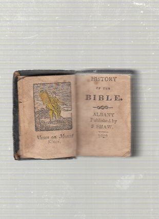 miniature book) History Of The Bible