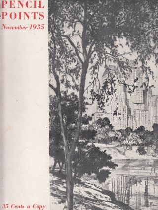 Pencil Points, November 1935 (Vol. XVI, No. 11). Russell F. Whitehead