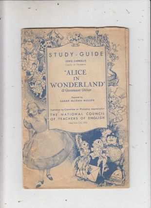 "Study-Guide Leewis Carroll's Classic of Nonsense :Alice In Wonderland"", A Paramount Picture...."