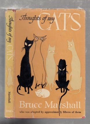 Thoughts Of My Cats. Bruce Marshall
