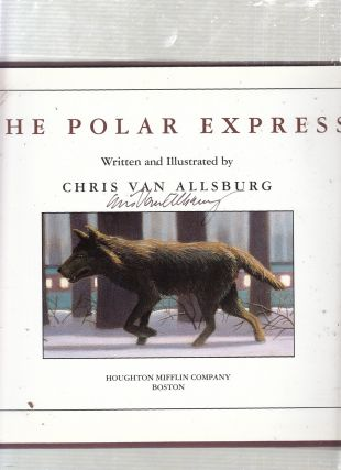 The Polar Express (signed by the author)