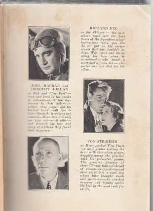 The Lost Squadron (photoplay edition)