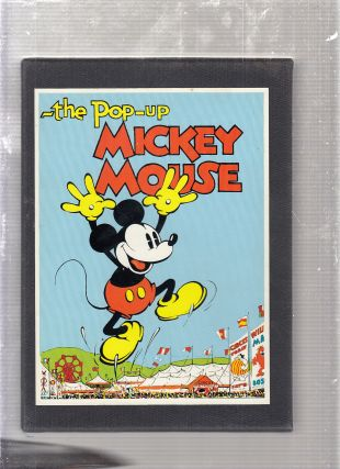 Pop-Up Mickey Mouse: Collector's Edition (numbered, limited boxed set of four). Disney Studios,...