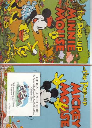 Pop-Up Mickey Mouse: Collector's Edition (numbered, limited boxed set of four)