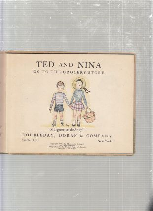 Ted and Nina Go To The Grocery Store (signed by the authorand in the original dust jacket)