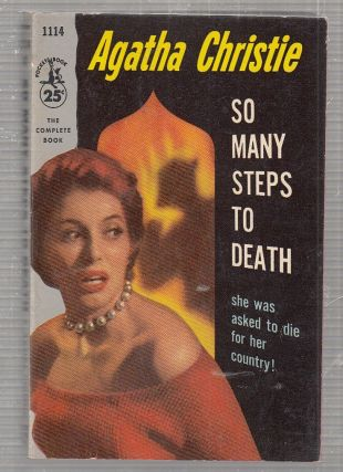 So many Steps To Death (first paperback edition). Agatha Christie