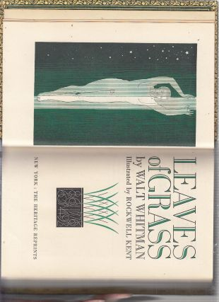 Leaves Of Grass (in fine signed binding by Maurin)