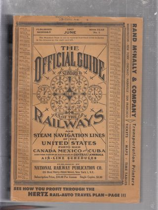 The Officia Guide of the Railways and Steam Navigation Lines of the United States, Puerto Rico,...