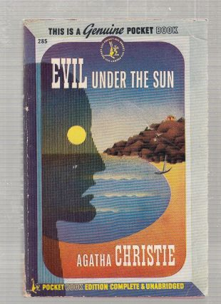 Evil Under The Sun (vintage 1st paperback edition). Agatha Christie