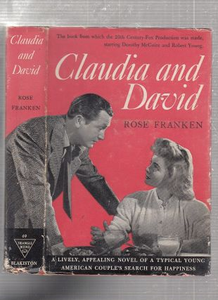 Claudia and David (movie edition in dust jacket). Rose Fraken