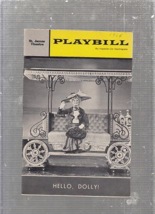 "Playbill ""Hello Dolly"" 1964 w/ Carol Channing"
