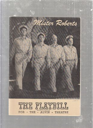 "1948 Playbill for ""Mr. Rogers"" original Broadway production with the original cast. Thomas..."
