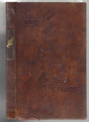 Les Chats (first Rotterdam edition 1728)