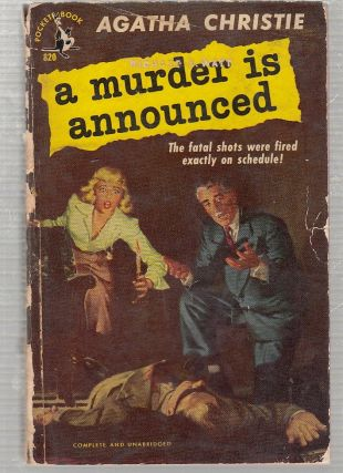 A Murder Is Announced (first papeback edition). Agatha Christie