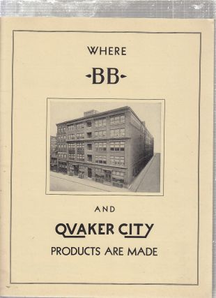 BB and Quaker City Products Catalog No. 12