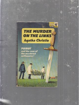 Murder On The Links (Pan Books No. X241). Agatha Christie